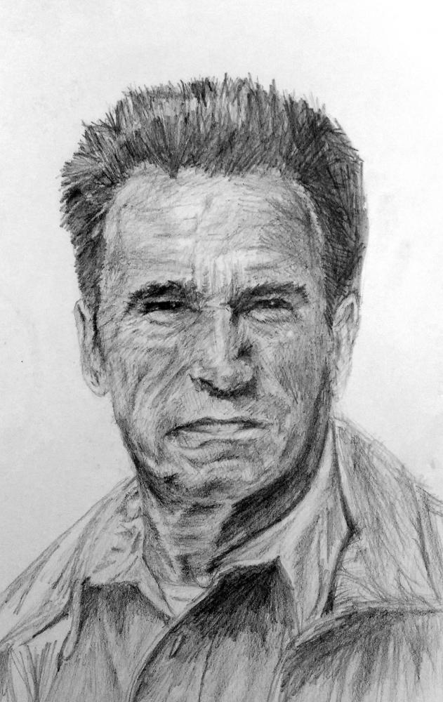 Arnold Schwarzenegger par linshyhchyang